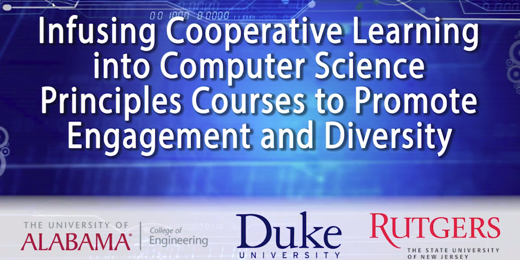 Infusing Cooperative Learning into Computer Science Principles Courses to Promote Engagement and Diversity
