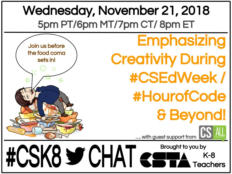 #CSK8 Twitter Chat