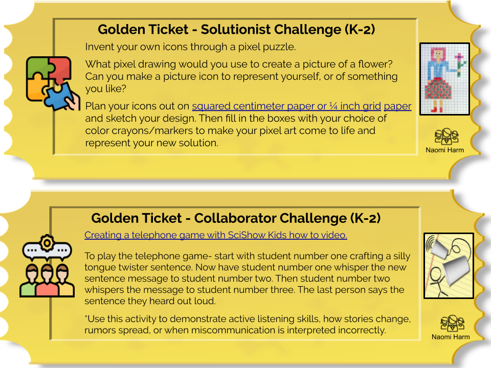 Example Golden Tickets