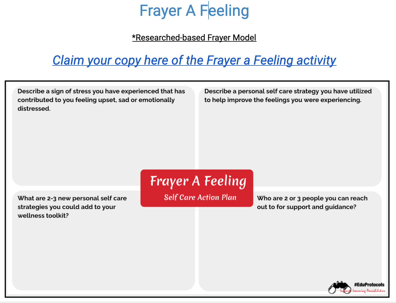 Frayer a Feeling