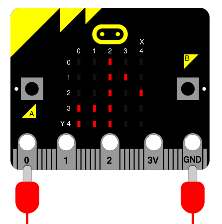 Microbit music pins
