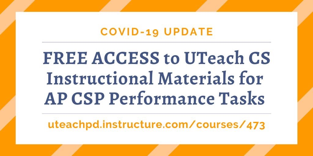 Free materials for AP CSP Performance Tasks